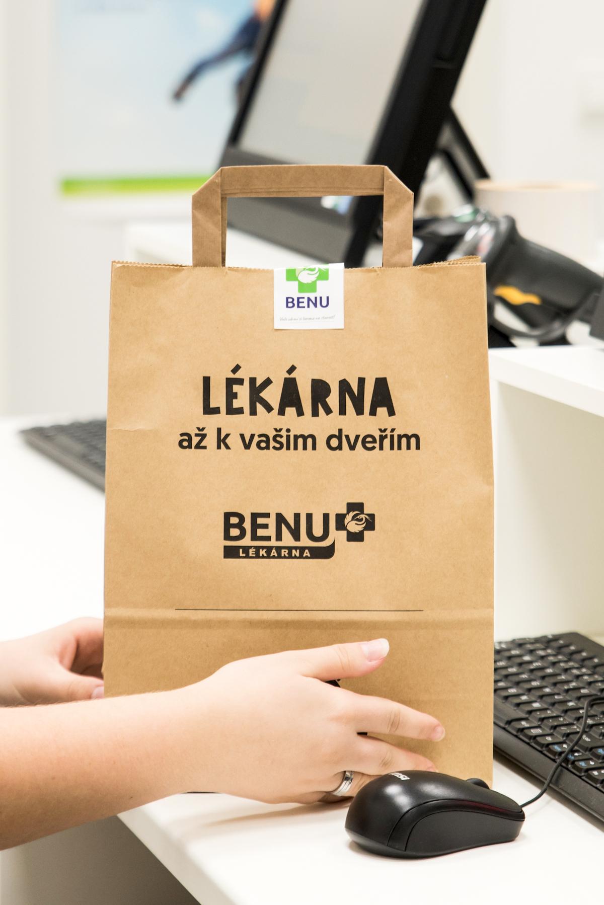 Rohlik.cz rozváží léky z Benu