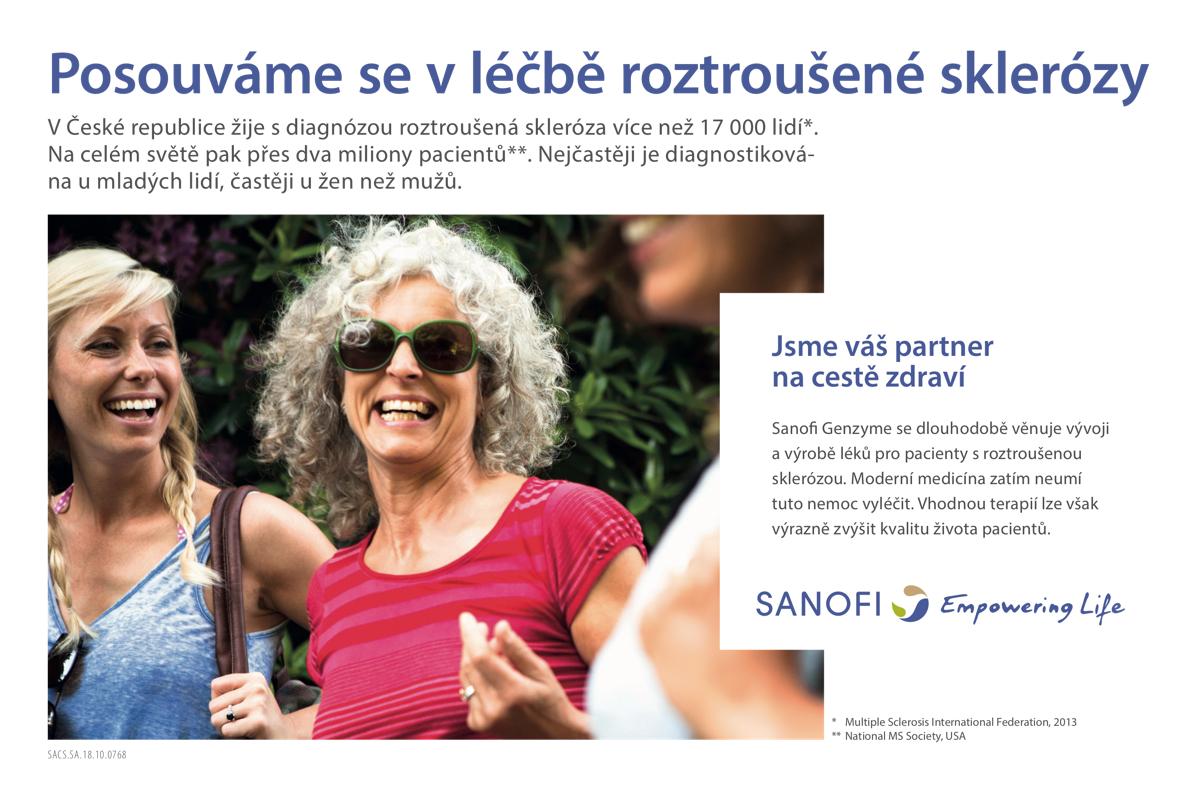 Kampaň Sanofi v tisku