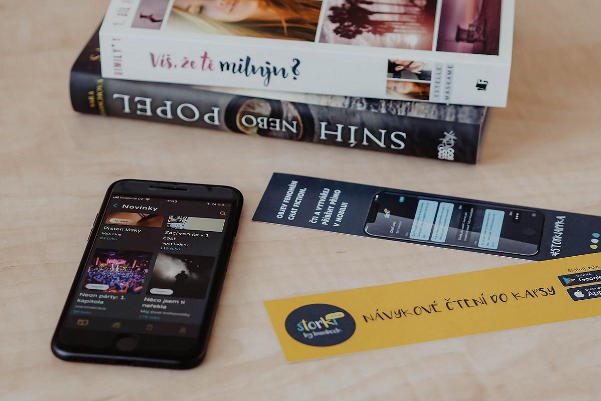 S aplikací Storki přichází do Česka literární žánr chat fiction