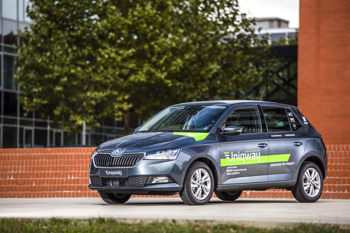 Služba Uniqway nabízí vozidla značky Škoda
