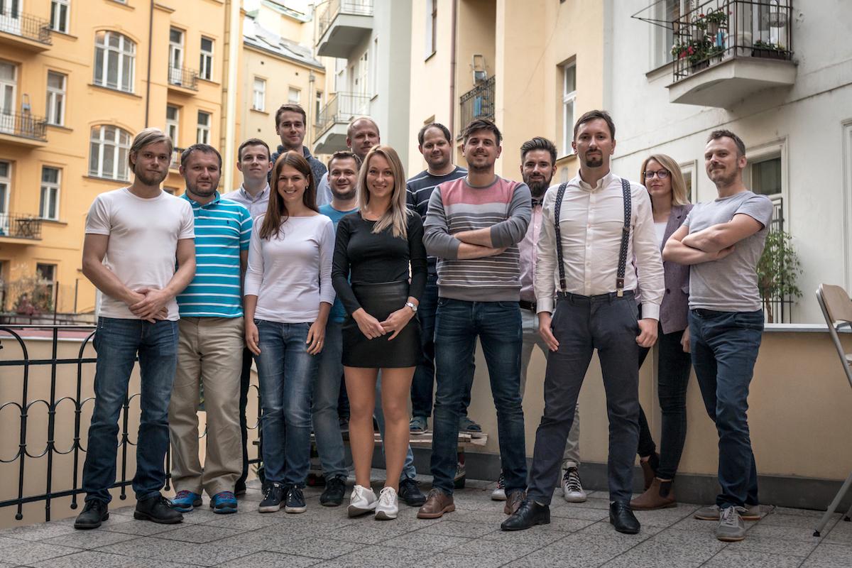 Tým startupu Yieldigo