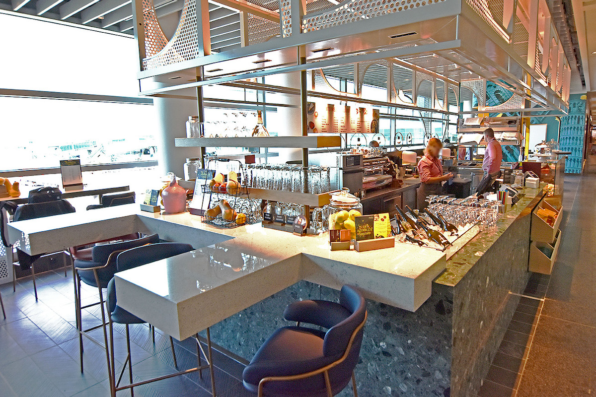 Restaurace Zigolini na pražském letišti