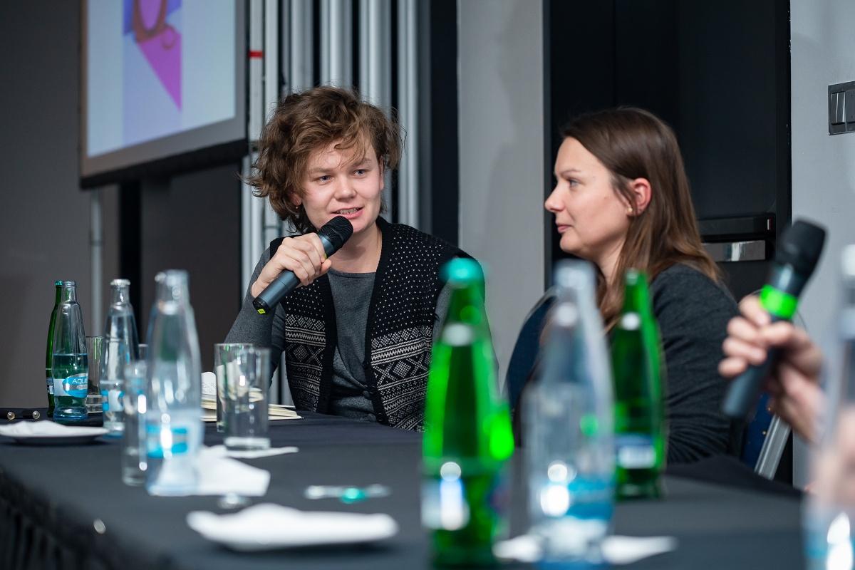 Debatu moderovala Tereza Lišková, šéfredaktorka Modern Times