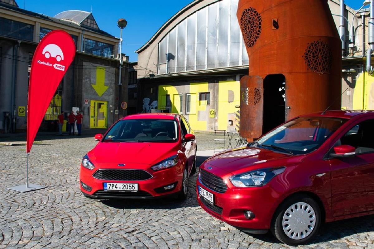 Plzeňskou Karkulku řidiči poznají snadno podle typické barvy