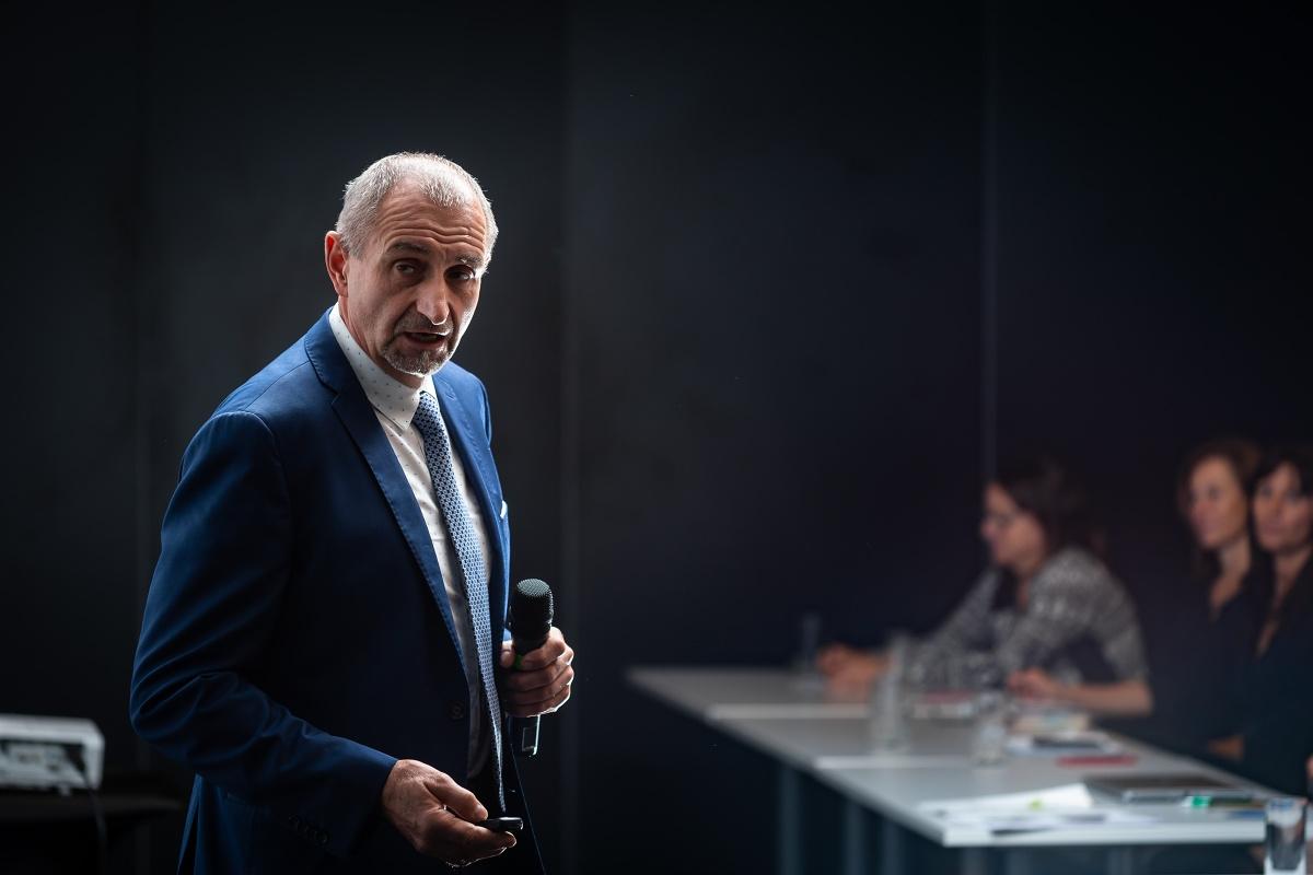 Pavel Klimeš, ředitel Obchodního centra Letňany