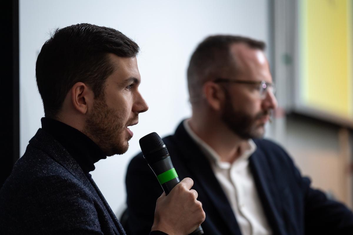 Michal Mička přišel mluvit o svých značkách Pietro Filipi a Kara