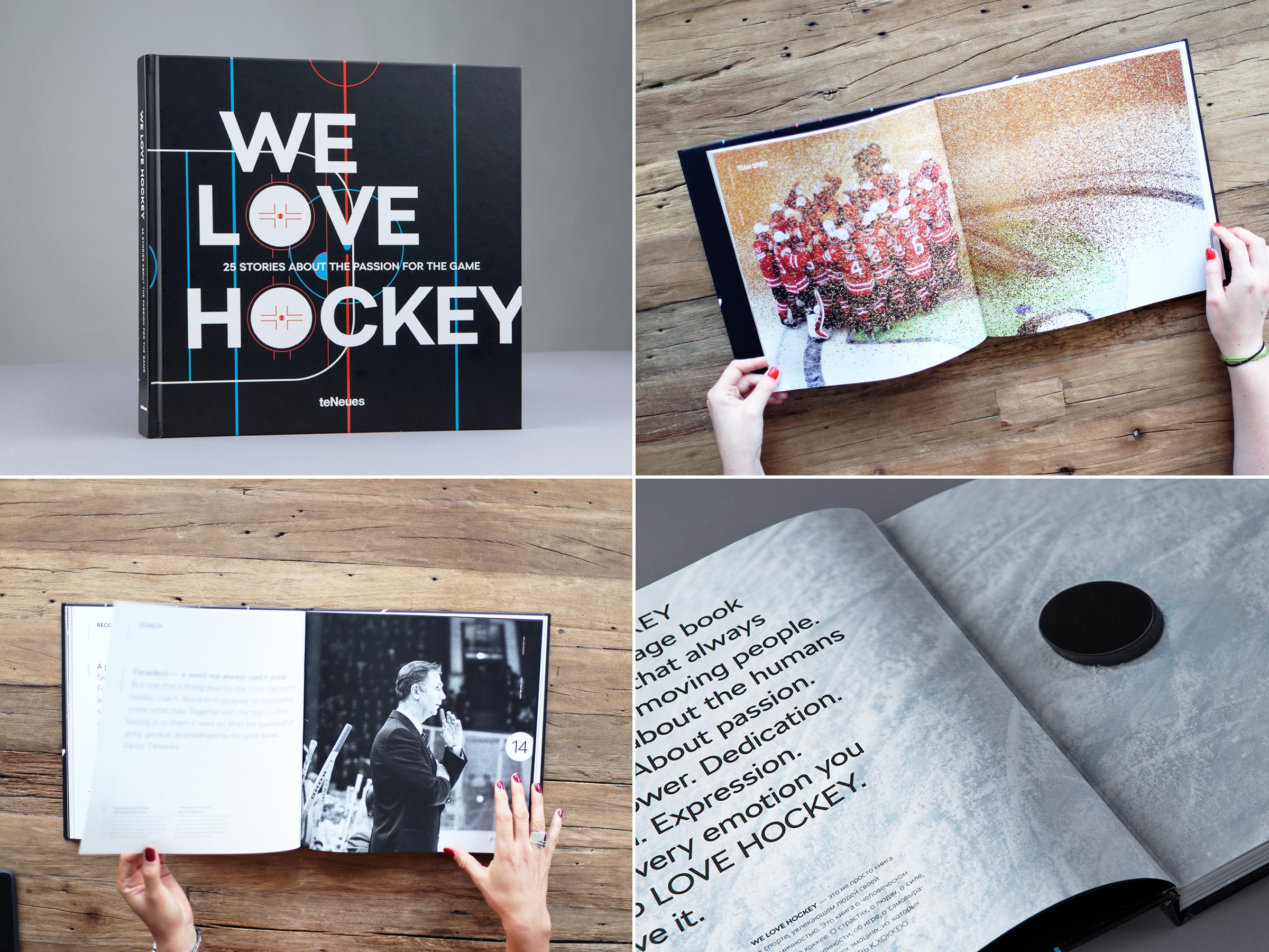 Ukázka z knihy We Love Hockey