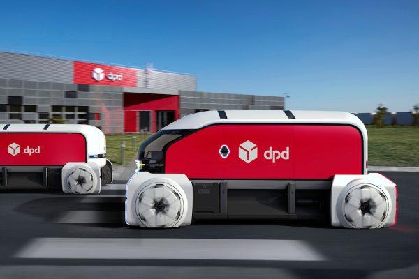 Drony ne. DPD a Renault testuje doručování vozidly bez řidičů