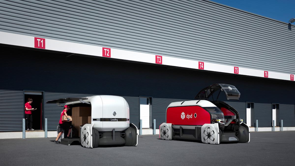 Autonomní vozidla Renault ve službách DPD