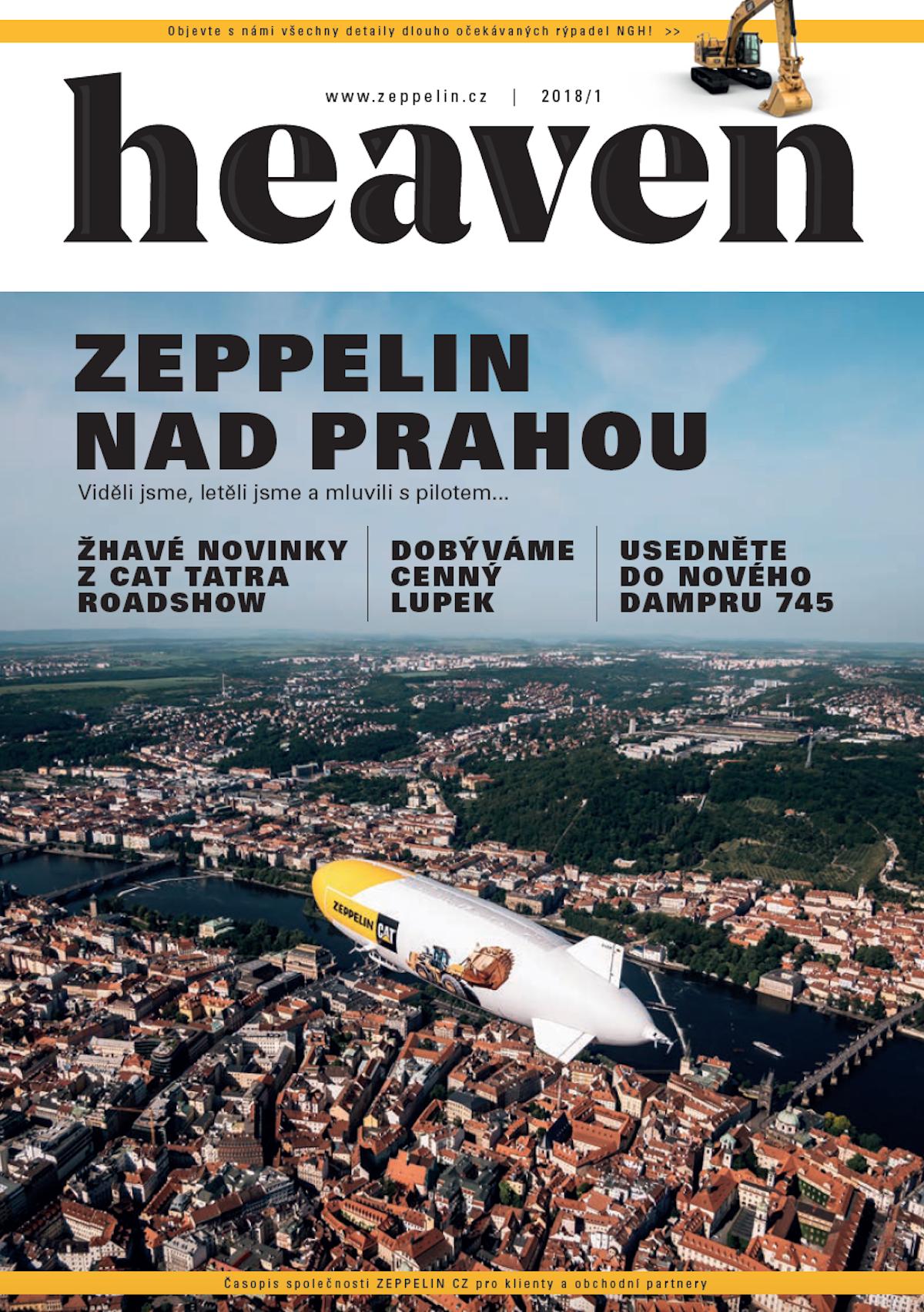Nová podoba časopisu Heaven