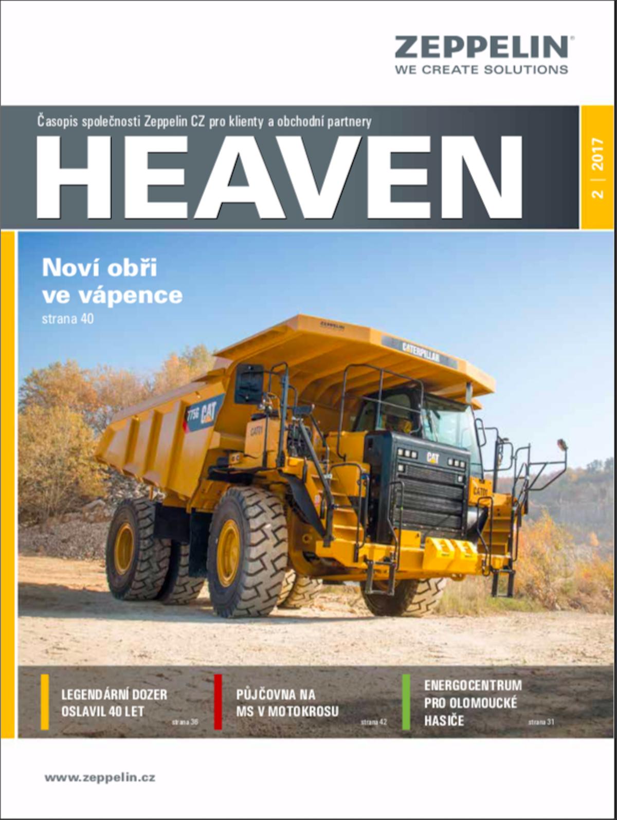 Předchozí podoba časopisu Heaven