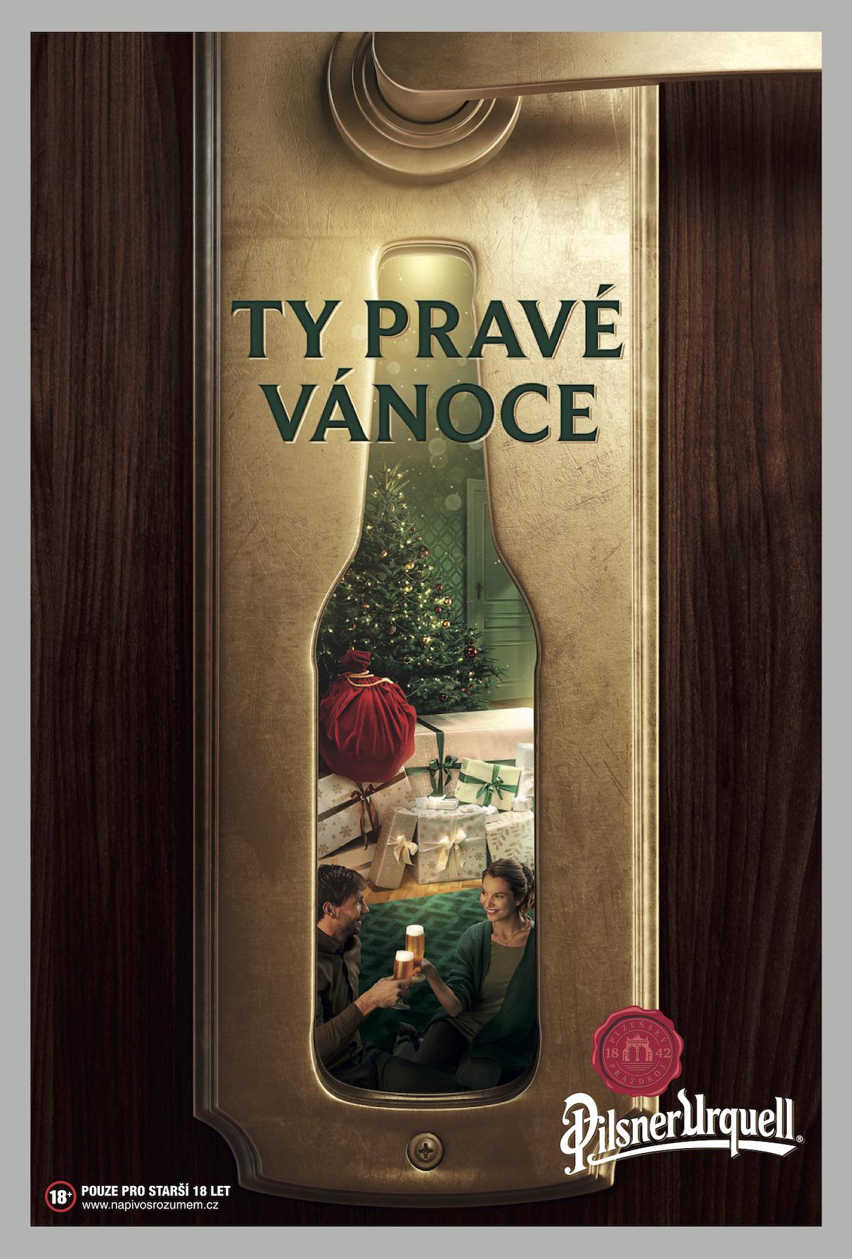 Pilsner Urquell: Ty pravé Vánoce (VLMY&R Praha)