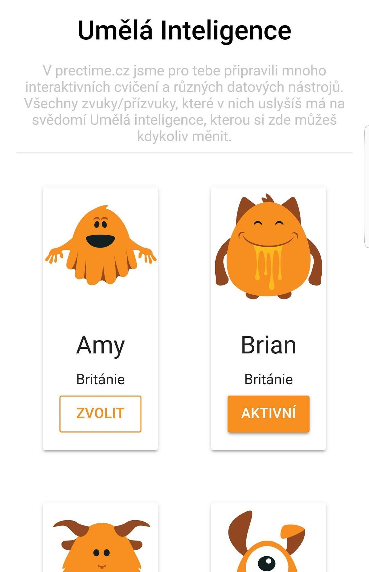 Aplikace využívá umělou inteligenci, která zajišťuje používaná slova v různých přízvucích