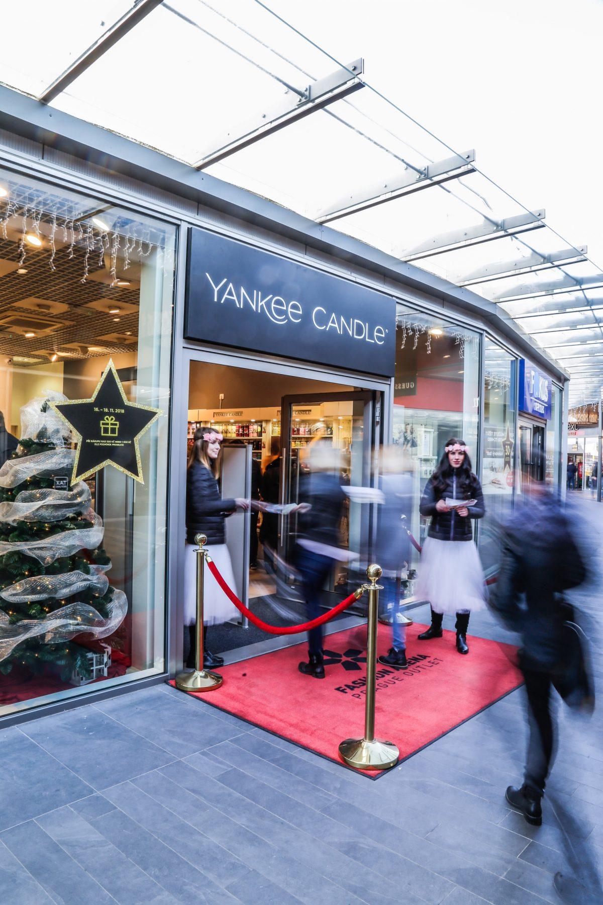 Nový obchod Yankee Candle ve Fashion Areně