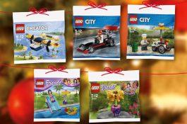 Albert ve věrnostní kampani nabízí 13 různých sad stavebnice Lego