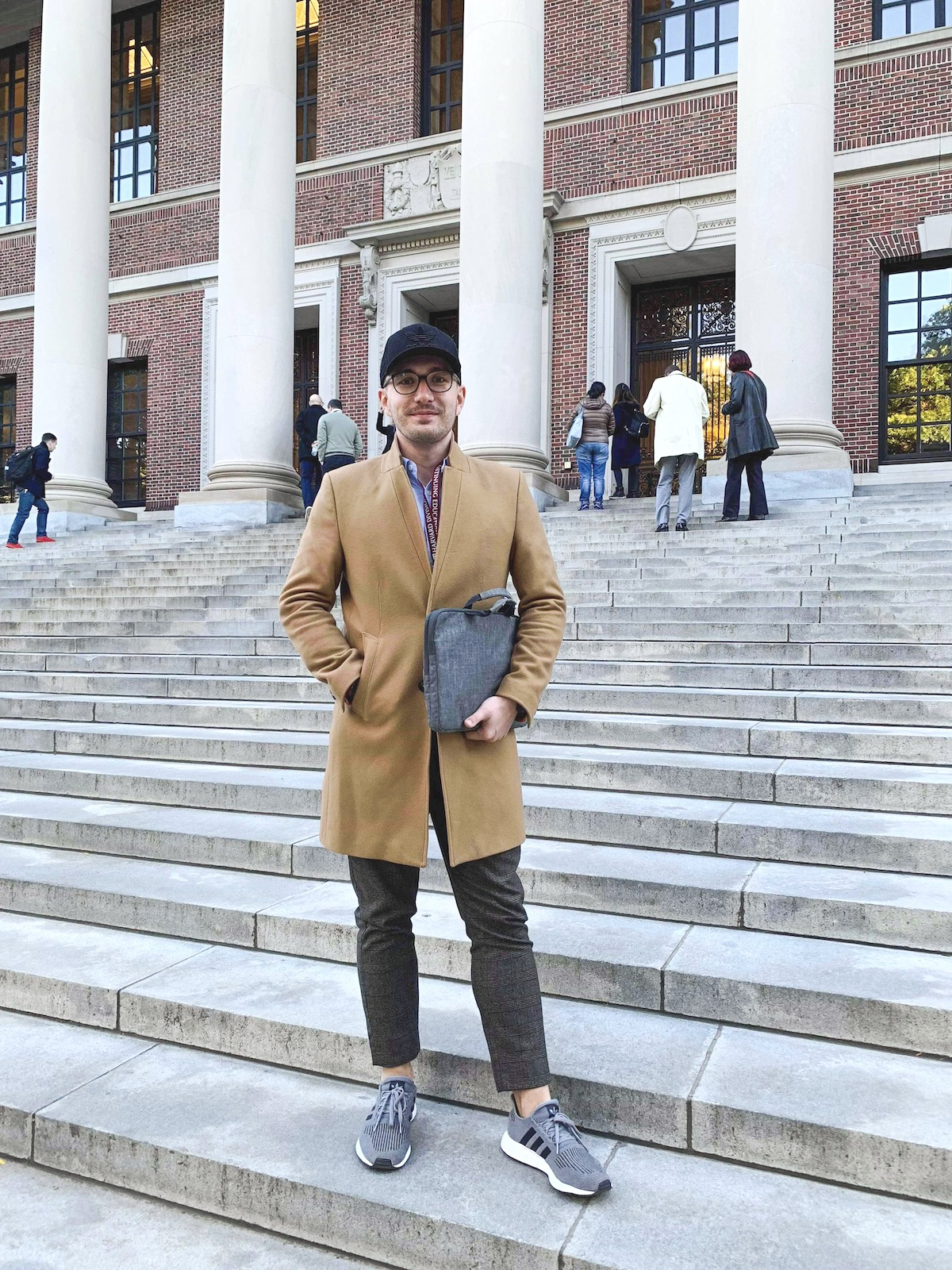 Michal Bubeníček na Harvardu