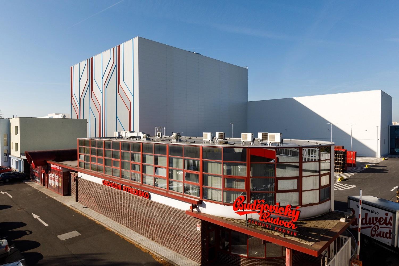 Nový areál logistiky Budvaru