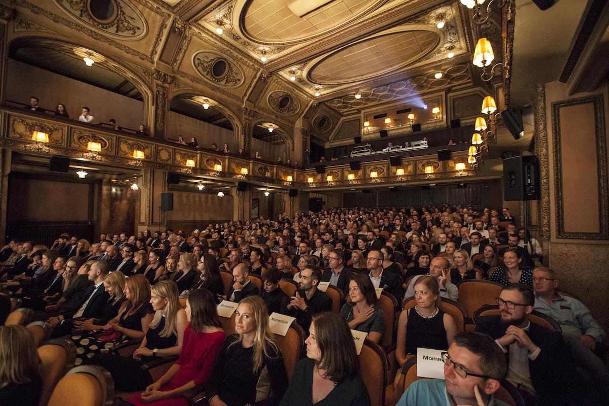 Předávání cen přihlížel zaplněný sál pražské Lucerny