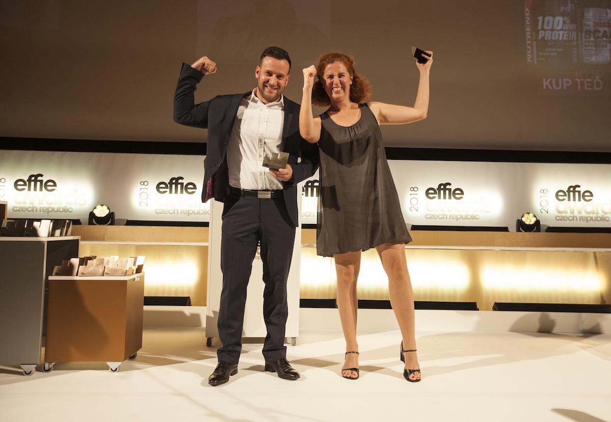 Čerství držitelé ocenění Effie