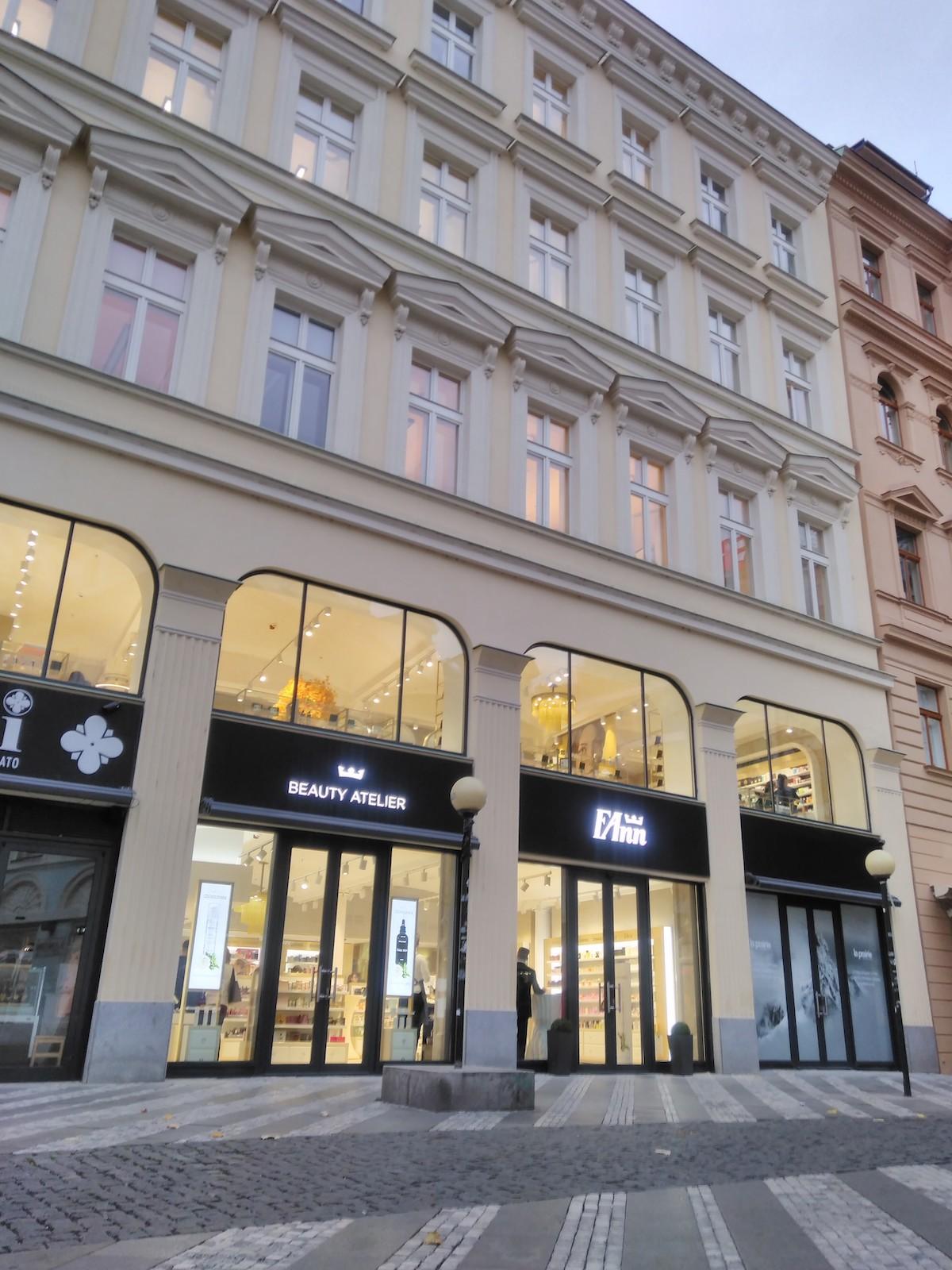 Nový Fann Beauty Atelier obsadil přízemí a první patro