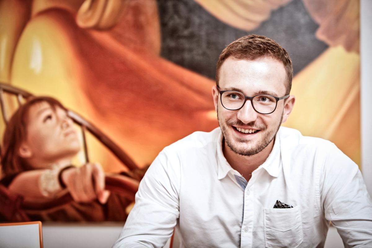 Michal Bubeníček. Foto: Libor Fojtík