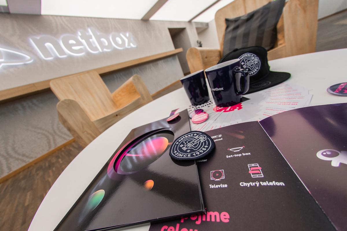 Marketingové předměty Netboxu