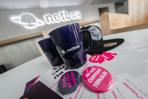 Netbox míří do vesmíru, mění vizuál i komunikaci
