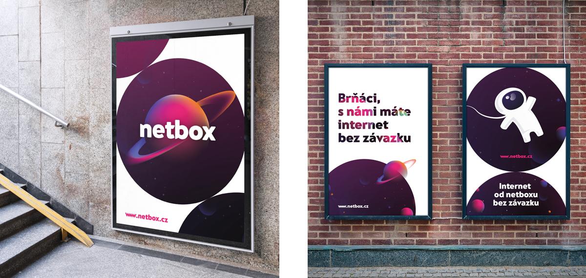 Reklamní nosiče Netboxu
