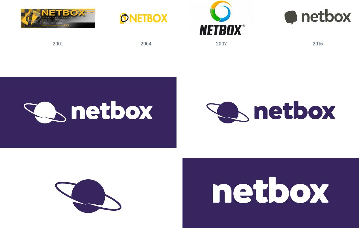 Vývoj loga Netboxu