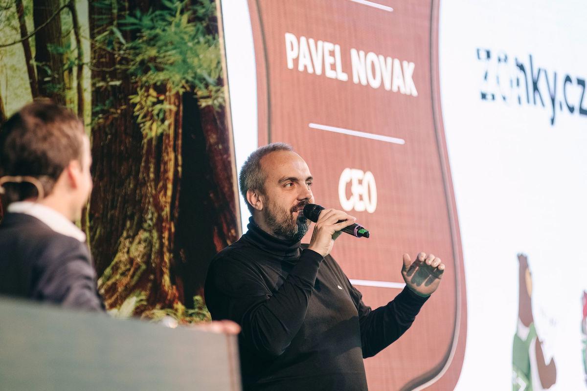 Ředitel Zonky Pavel Novák na konferenci Saleforce Basecamp