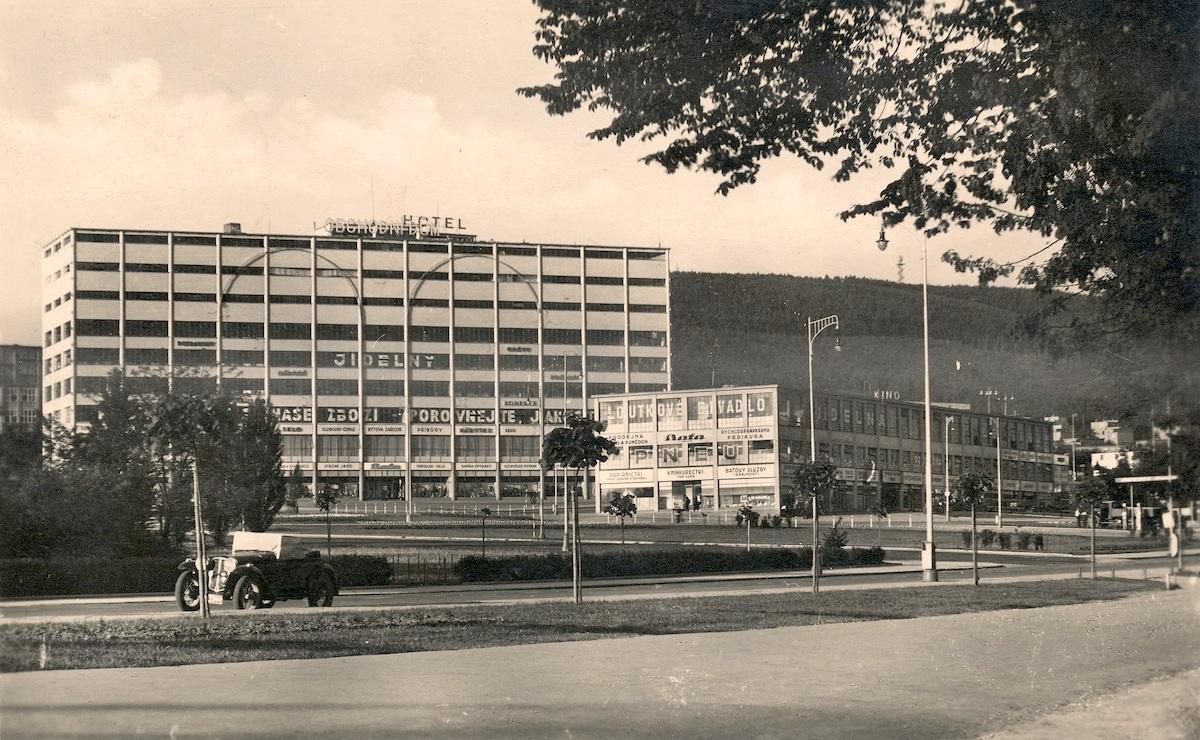 Obchodní dům Zlín v původní podobě