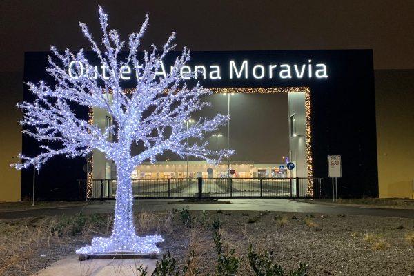 Otvírá Outlet Arena Moravia v Ostravě, má 51 obchodů