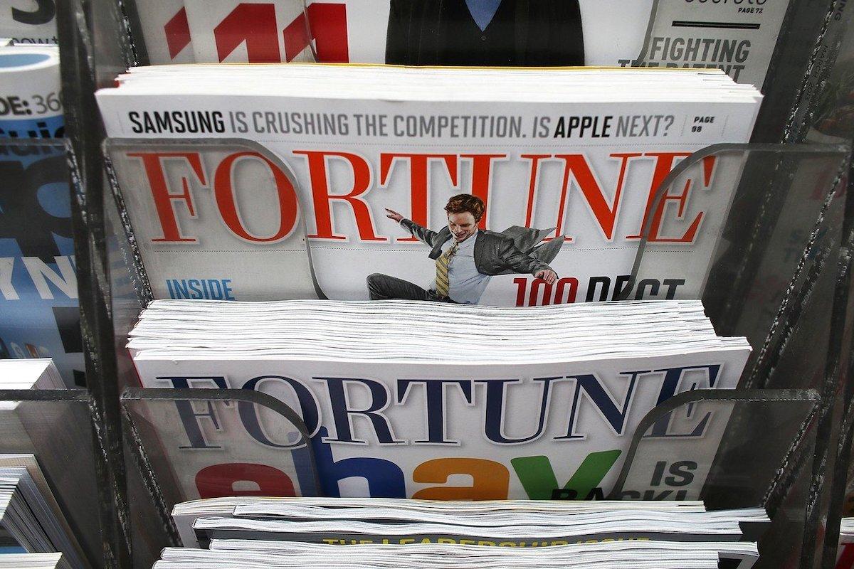 Fortune magazine. Photo: Profimedia.cz