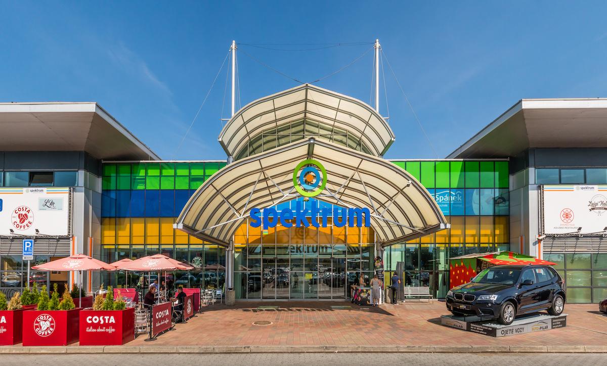 Obchodní centrum Spektrum dnes