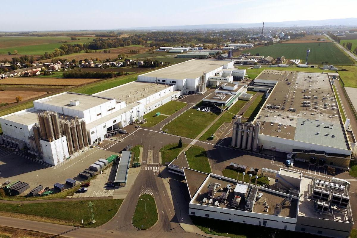 Továrna Mondelez v Opavě-Vávrovicích