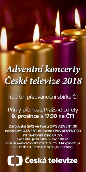 Adventní koncerty ČT 2018