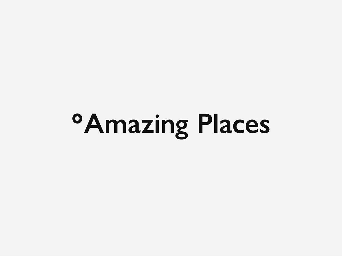 Nový vizuální styl Amazing Places