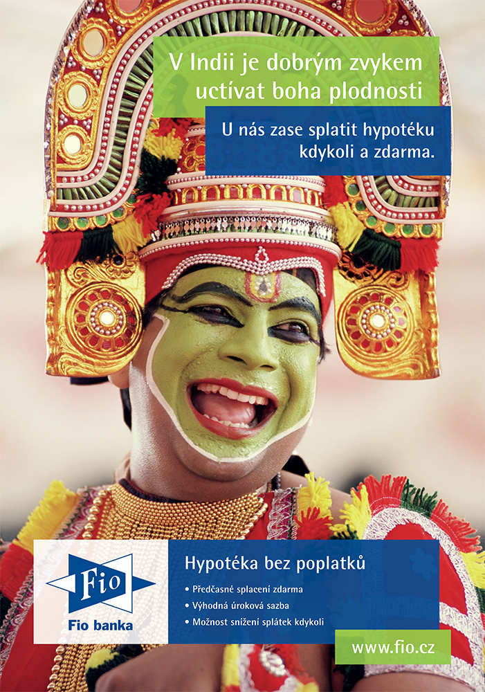 Fio banka: Dobré zvyky - Indie (Mark BBDO)