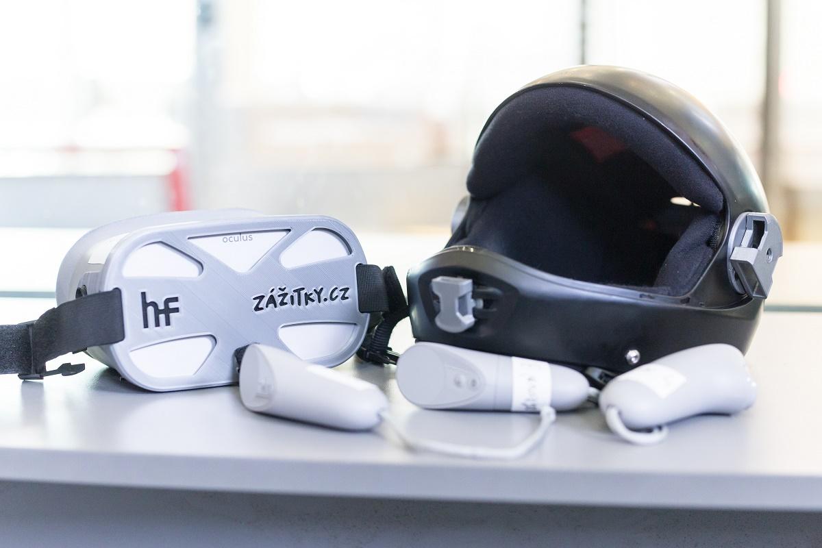 Zážitky.cz pro virtuální realitu využily poupravené headsety Oculus Go