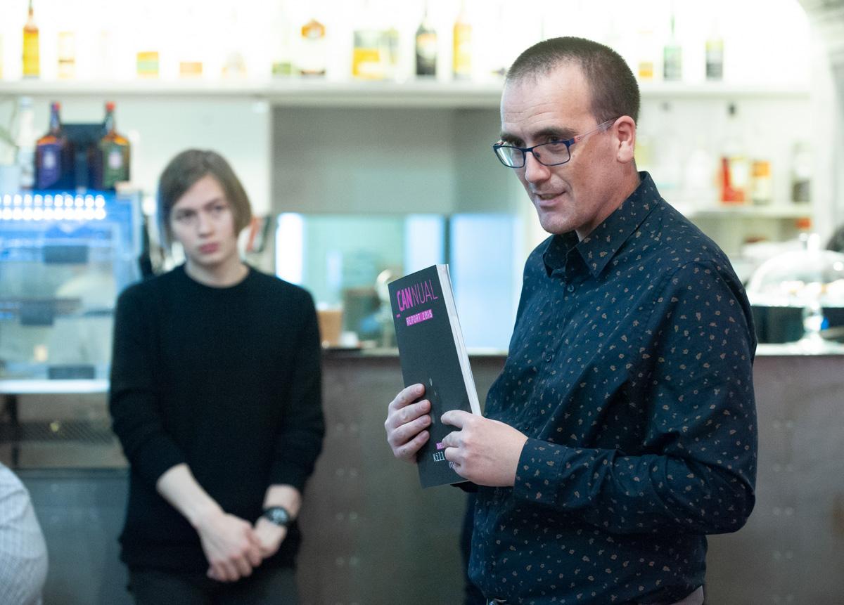 Petr Laštovka z Comtechu představil čerstvé vydání ročenky Cannual Report