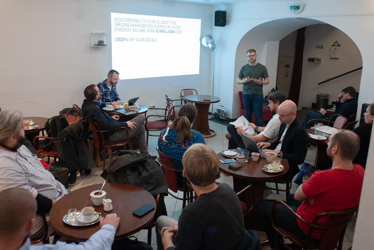 Setkání digitálních agentur tradičně probíhá v kavárně kina Ponrepo