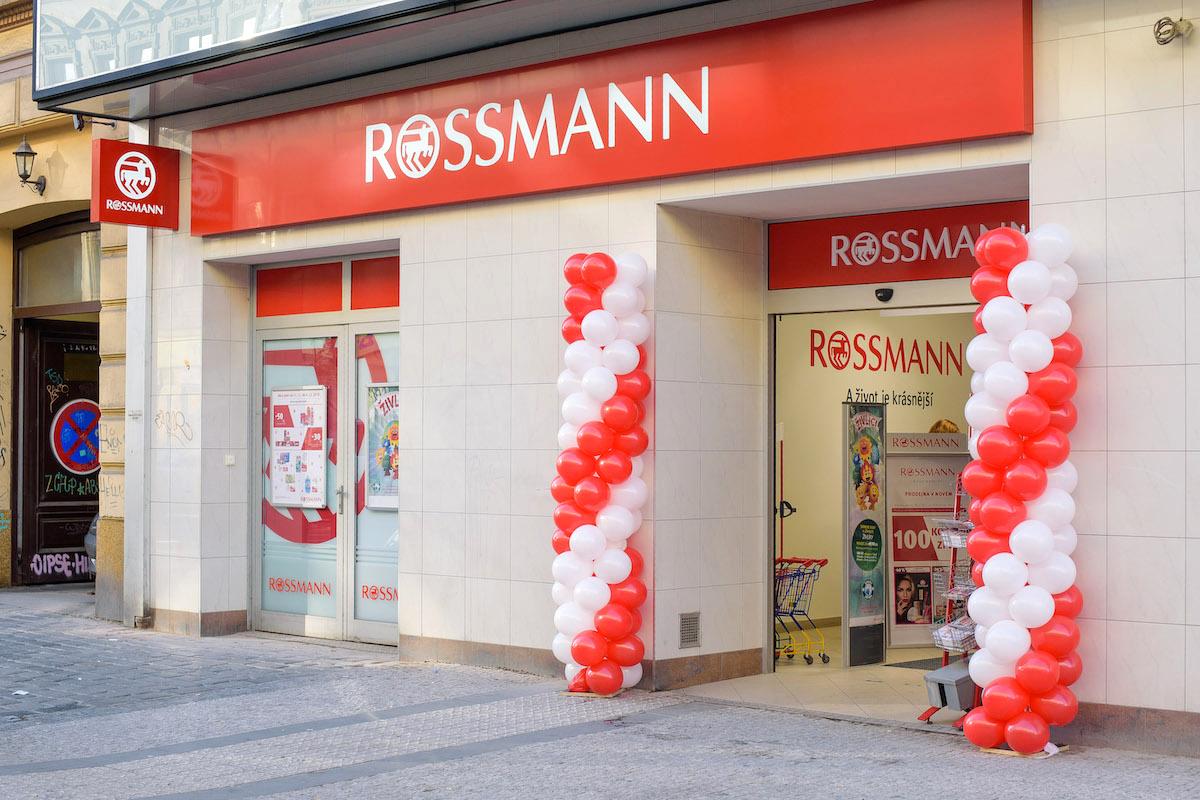 Rossmann v Praze na Bělehradské