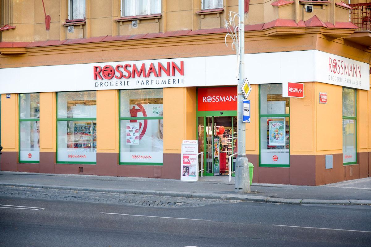 Rossmann v Praze na Koněvově