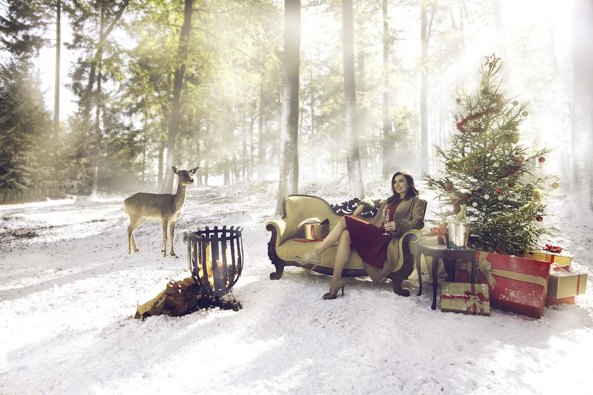 Ústřední vizuál vánoční kampaně BigBrands