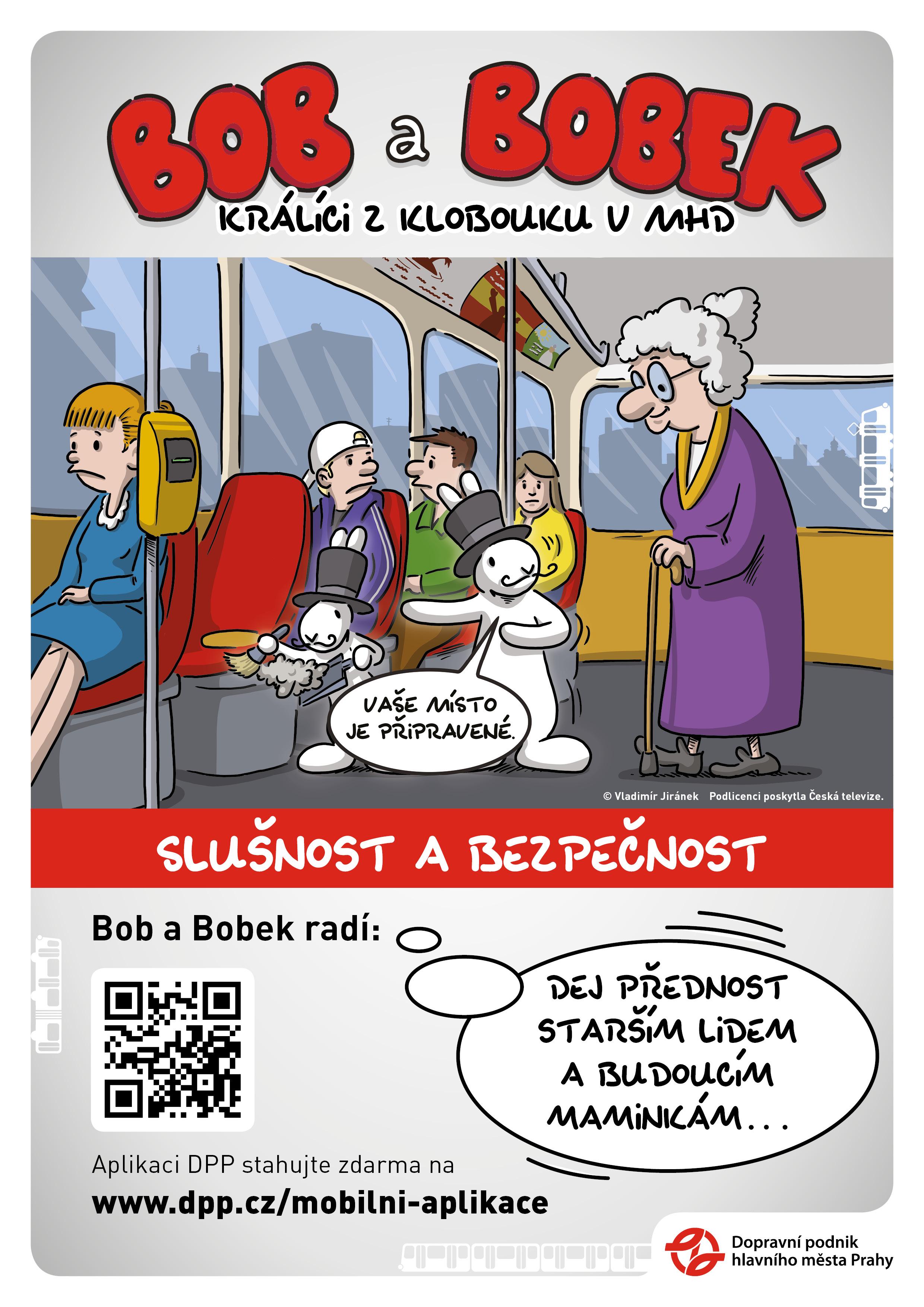 Dopravní podnik Praha: Slušnost a bezpečnost