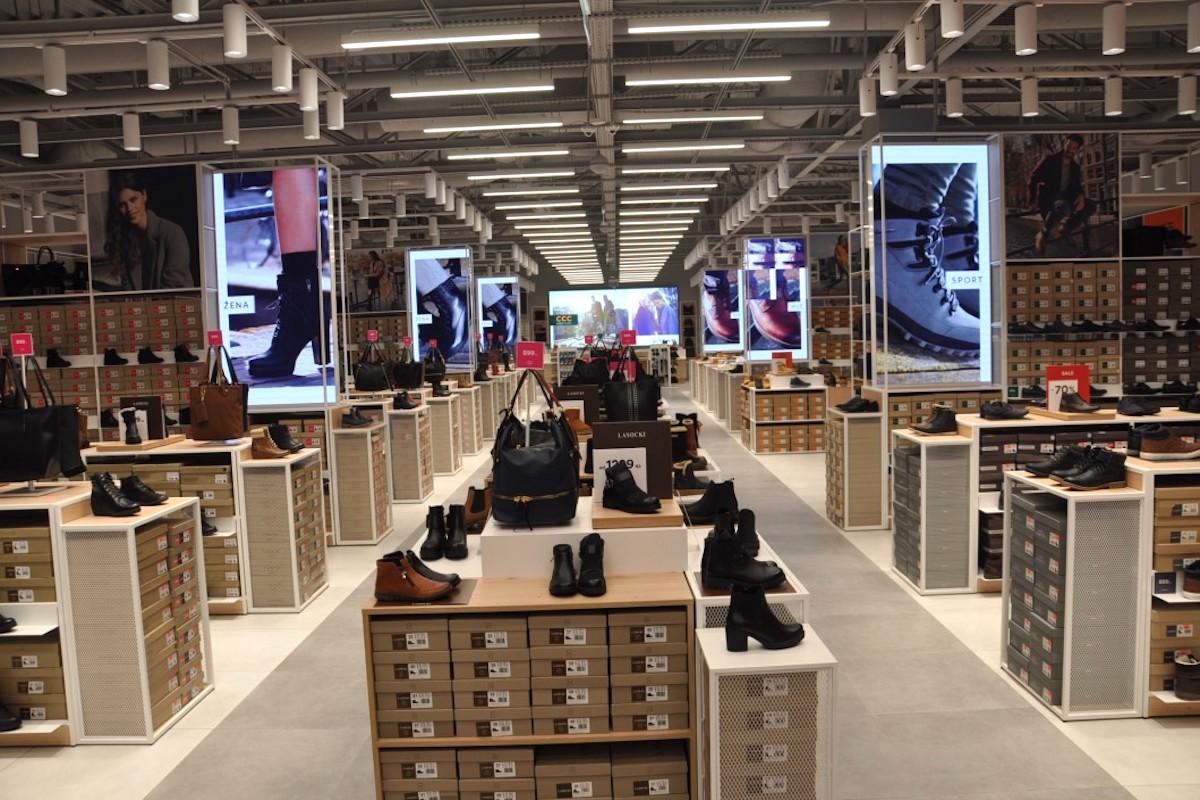 Nová prodejna CCC v Teplicích