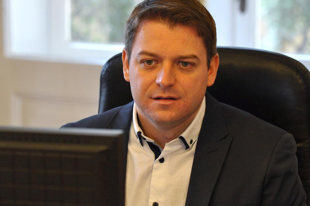 Poslanec Tomáš Martínek. Foto: Česká pirátská strana