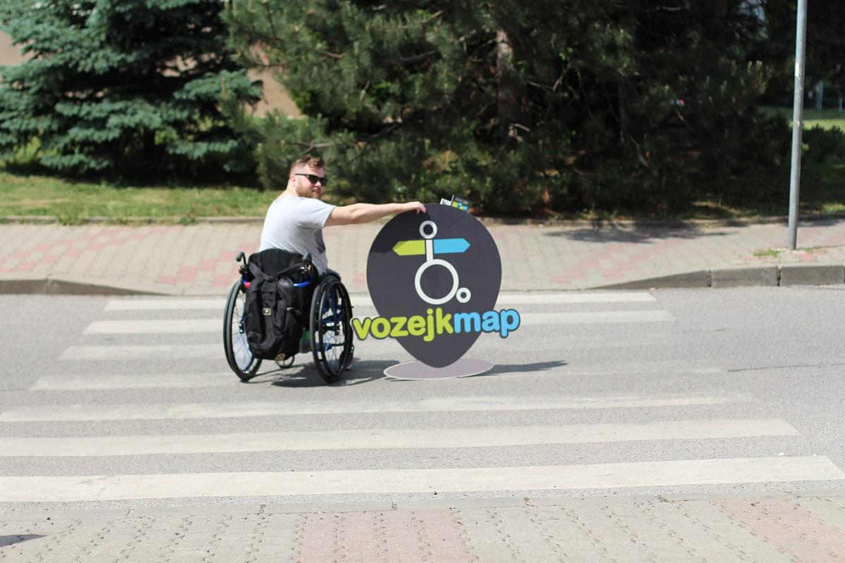 VozejkMap je mapa bezbariérových objektů po celé ČR i v zahraničích. Nová verze přináší i další funkce, které podporují soběstačnost vozíčkářů
