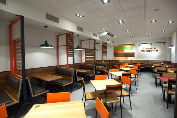 Burger King má vPraze na I. P. Pavlova největší pobočku v Česku
