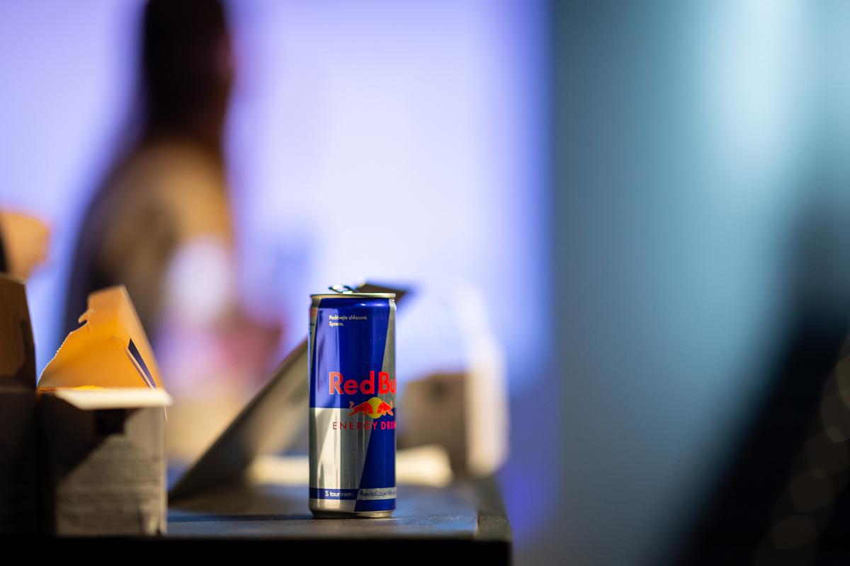 Drinky dodal Red Bull
